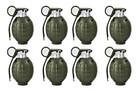 Toy Hand Grenades - BULK Set of 8