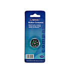 Working Button Compass - Black