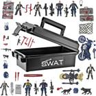 55 Piece Jumbo Action Force Set - SWAT