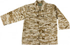Kids BDU Shirt - Desert Digital