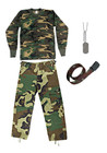 Kids #5 Combo - Woodland Camo