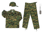 Kids #3 BDU Combo - Woodland Digital Camo