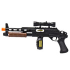 Hybrid Pump-Shot Sub-Machine Gun with Lights & Sounds - Pistol Grip