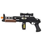 Hybrid Pump-Shot Sub-Machine Gun with Lights & Sounds - Pistol Grip