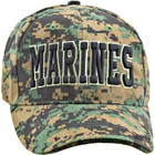 Woodland Digital Marine Baseball Cap - Front