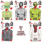 Colossal Paper Shooting Target - Zombie - ALL