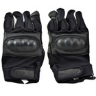 Kids Protective Airsoft Gloves - Black