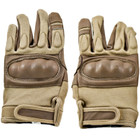Kids Protective Airsoft Gloves - Tan