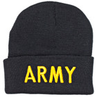 Acrylic Watch Cap - Army Insignia