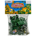 Combat Soldiers Playset - 75 Pieces