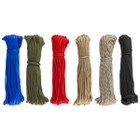 100 Feet, Nylon, 500 Lb Test, 7 Strand Core Paracord - Choose A Color