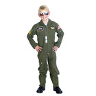 Top Gun Flight Suit Costume - Olive