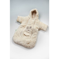 100% Organic Cotton and Wool Mix - Plush Sleeping Bag