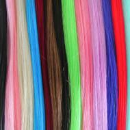 Kanekalon synthetic range of colours