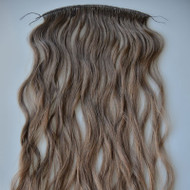 Double drawn thick virgin Russian hair extensions