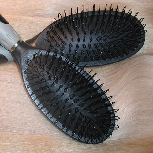 Loop Brush designed for hair extensions for easy brushing.