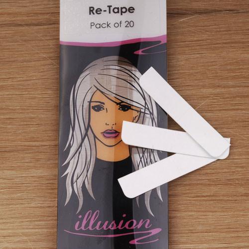 Re-tape. 20 pre-cut pieces