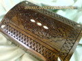 Handmade Engraved Wallet Jewelry Box Mother's Day Gift Idea