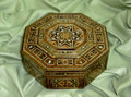 Octagonal Mosaic Box Great Holiday Birthday Gift Idea