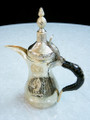 Gilded Brass Arabic & Bedouin Style Coffee Set with Cups