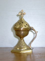 Authentic Arabic Frankincense Brass Burner from Syria