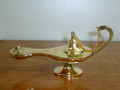 Large Brass Oriental Aladdin Lamp