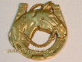 Brass Decorative Horseshoe