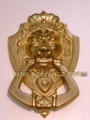 Oriental Brass Lion Door Knock