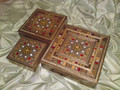 3 In 1 A Set of Handmade Mosaic Boxes New Idea Gift Presentation