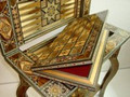 NEW Backgammon & Chess & Card & Checker Game Table