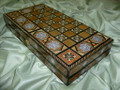 Large Mosaic Backgammon & Chess Board
