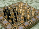 Mosaic Backgammon Chess Boards