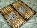 Middle Eastern Mosaic Backgammon Boards