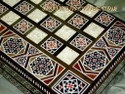 Handmade Middle Eastern Backgammon Board