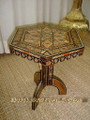 Octagonal Mosaic Coffee Table.