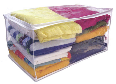 Clear Storage Bag  sc 1 st  Handy Laundry & Clear Storage Bag - Under Bed Blanket and Sweater.