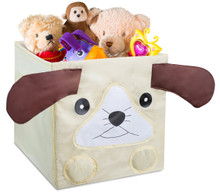 Kids Foldable Cube Storage Bins | Animal Design