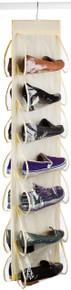"Hanging Shoe Organizer   14 Pockets   12.5""  49"""