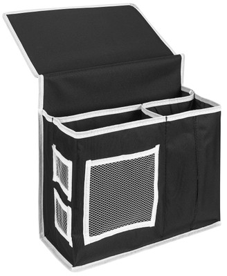 Bedside Storage bedside caddy storage organizer | 6 pockets