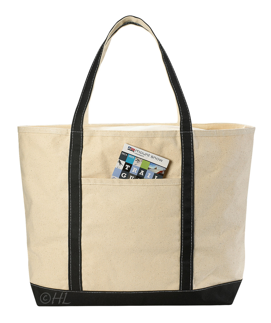 Canvas Tote Beach Bag | 22 x 16 | Assorted Colors