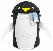 Penguin Laundry Hamper