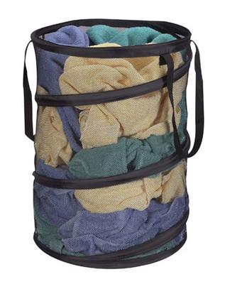 Mesh Laundry Hamper - Round