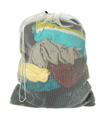 "Mesh Laundry Bag  - Assorted Colors - 24"" x 36"""