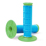 Kwala Pro Series Dual Ply Mx Grips Green/Blue