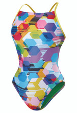Speedo Poly Gone Mesh Back