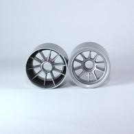 F1 Foam Front  Wheels (pr.) Gunmetal