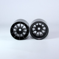 F1 Foam Rear  Wheels (pr.) Black
