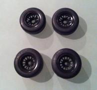 PARDUS RACING RUBBER TIRE SET FOR F103/F104