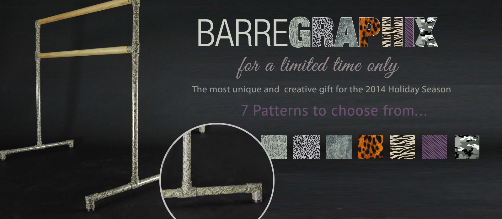 BarreGraphix - Freestanding Barre