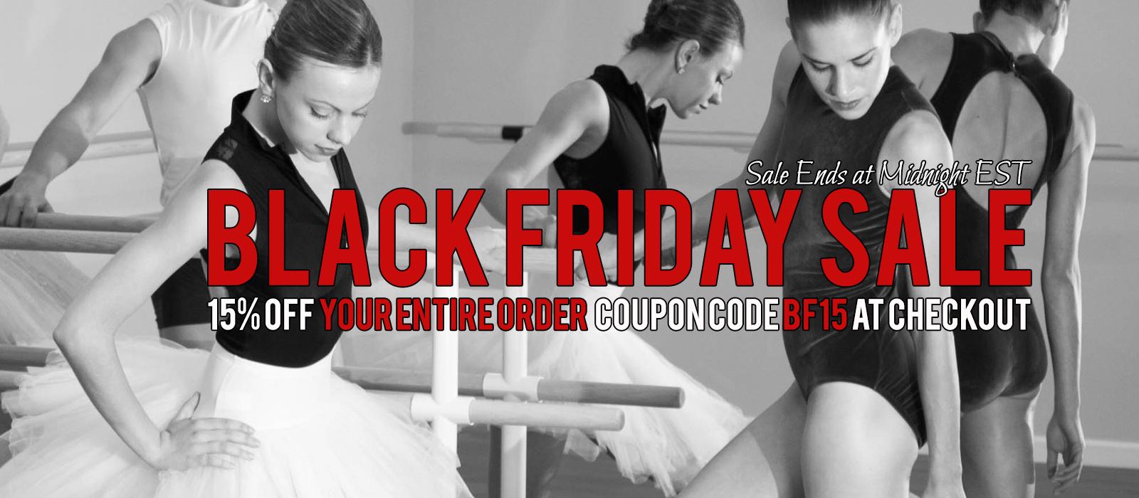 Black Friday Barre Sale